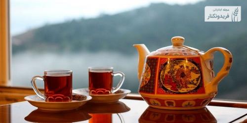 روش صحیح دم کردن چای ایرانی
