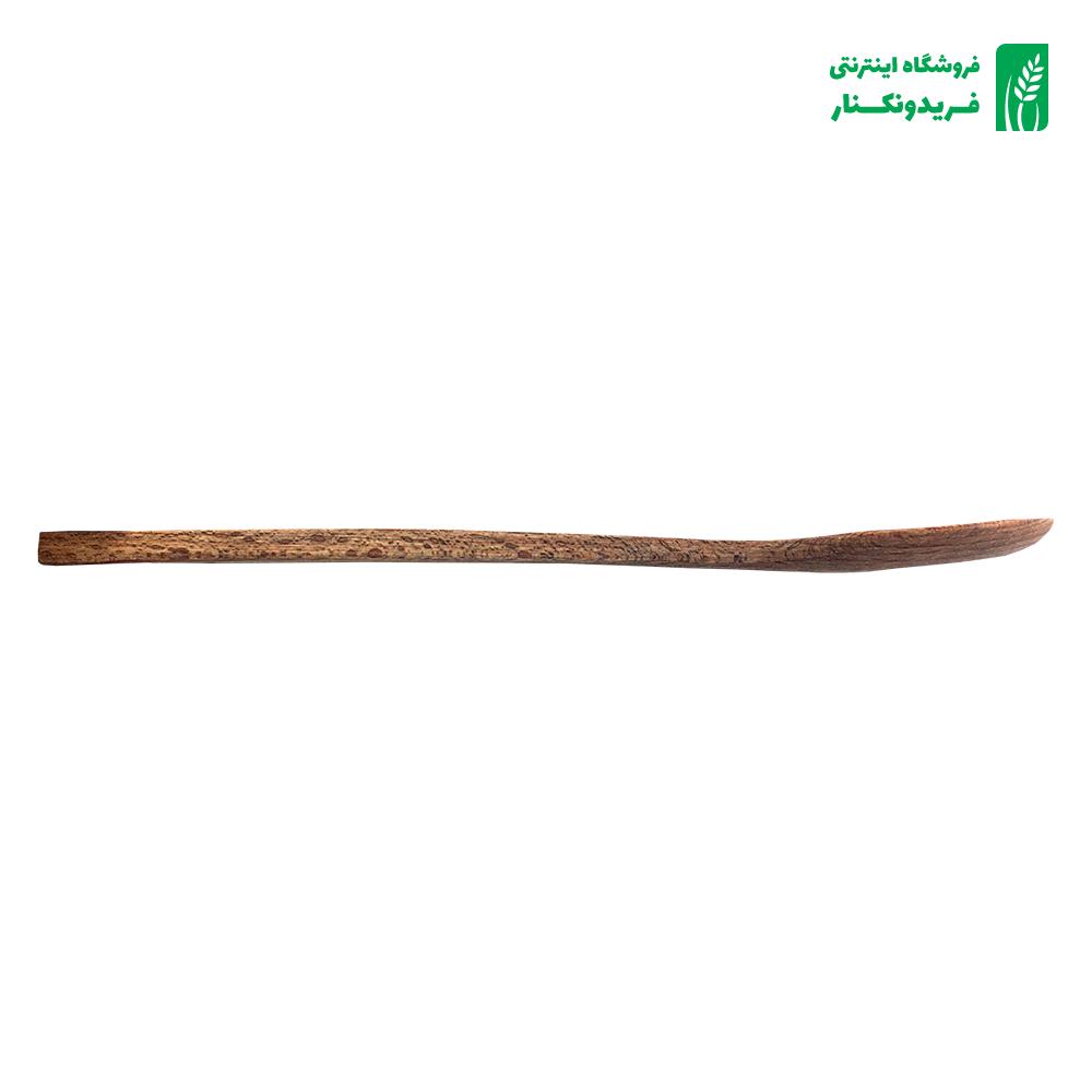 قاشق کوچک بلند چوبی جنس راش برند چوتاش