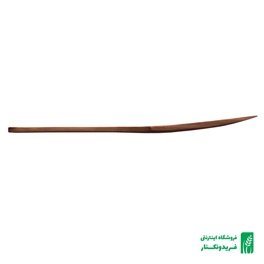 قاشق سوراخ دار چوبی شماره ۲ جنس راش برند چوتاش