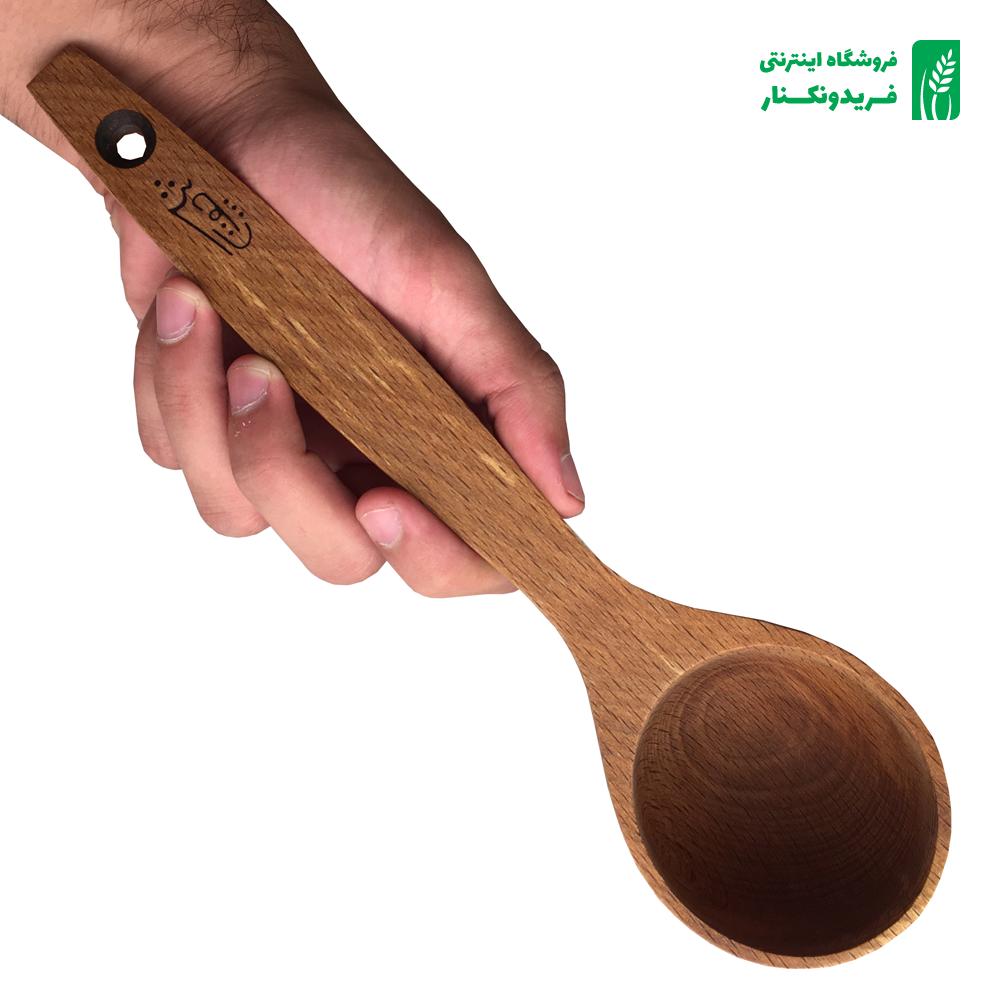 ملاقه چوبی شماره 8 جنس راش برند چوتاش