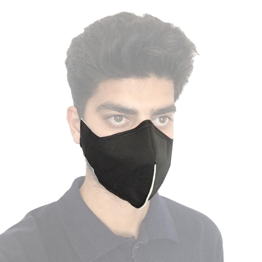 ماسک صورت سه لایه دست دوز
