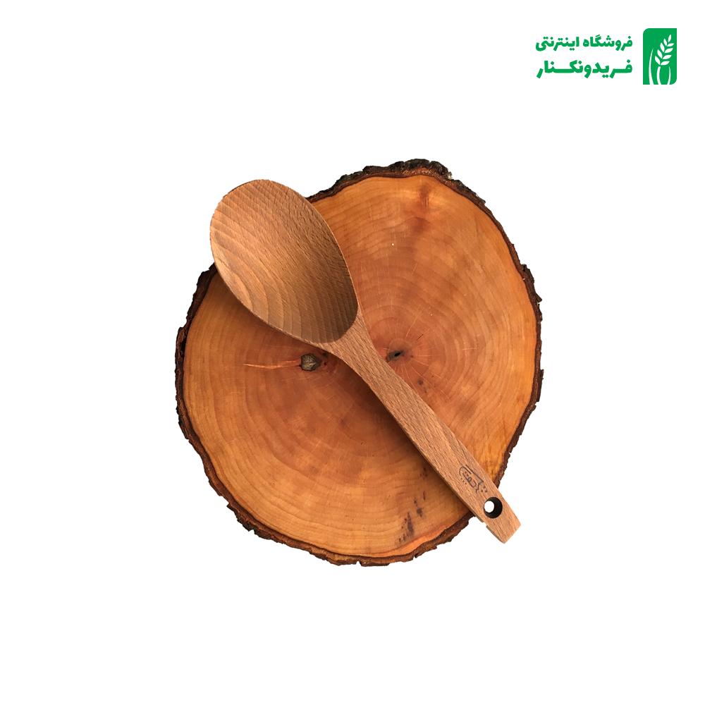 قاشق خورشتی گود چوبی جنس راش برند چوتاش