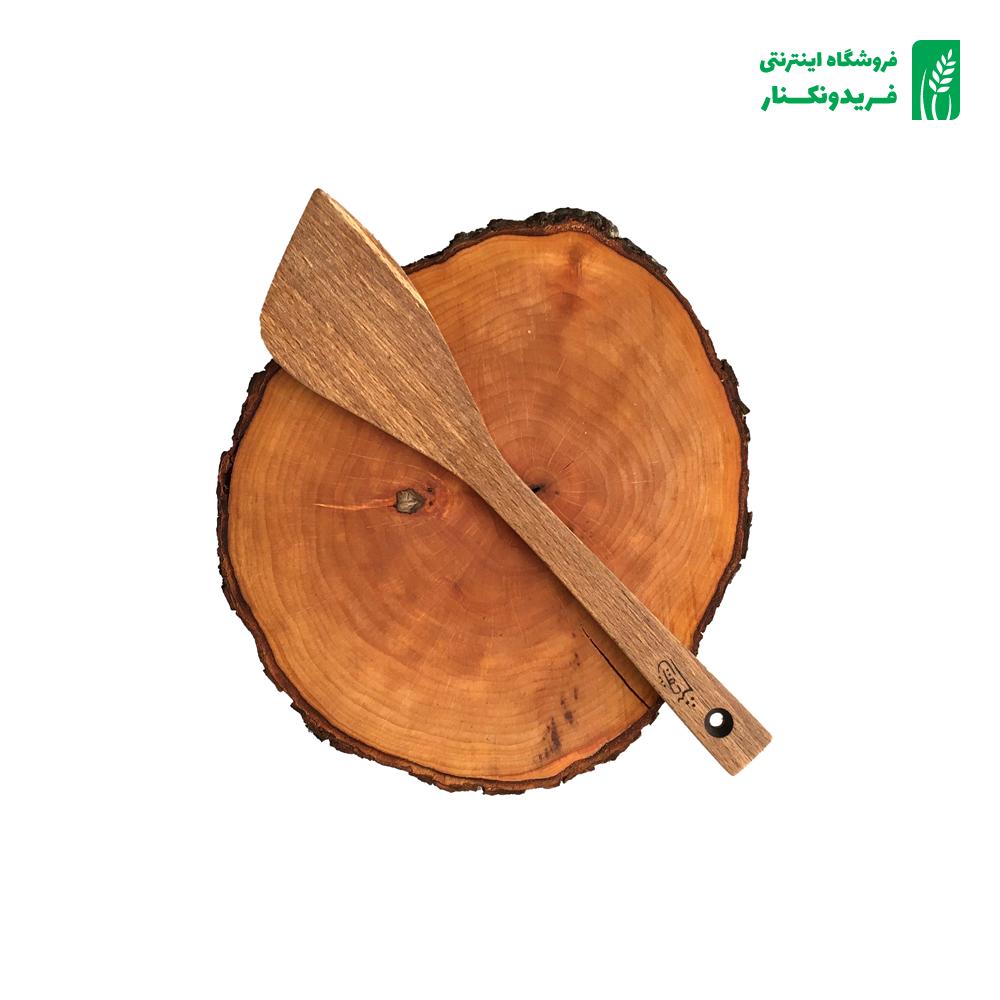 قاشق مثلثی چوبی جنس راش برند چوتاش
